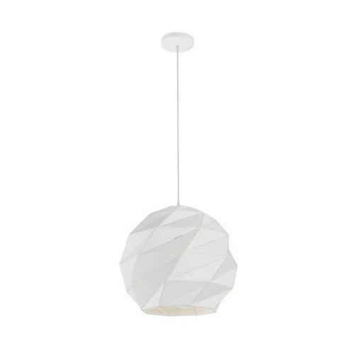 Lampa wisząca REUS biała E27 LIGHT PRESTIGE (5907796369203)