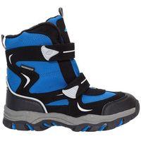 4f junior Buty zimowe dla małych chłopców jobmw302z - niebieski