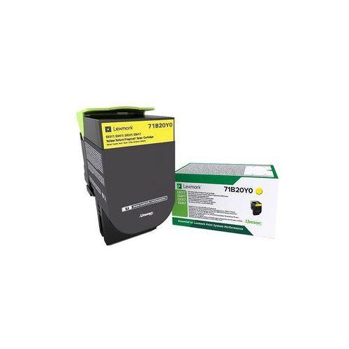 Lexmark toner Yellow 71B0040, 71B0040