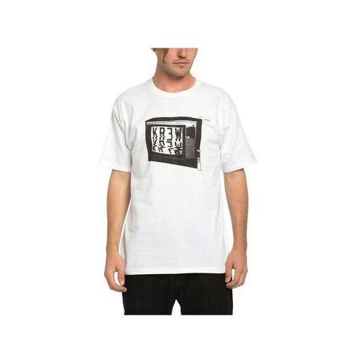 koszulka KREW - Tune Out Regular Tee White (100) rozmiar: XL, 1 rozmiar