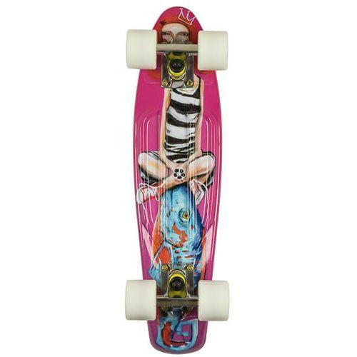 Deskorolka fishskateboards art fish girl / white / summer / green marki Fish skateboards