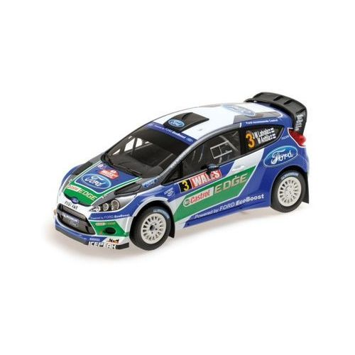 MINICHAMPS Ford Fiesta RS WRC Ford World Rally Team #3 Latvala/Anttila Winner Wales Rally GB 2012 - DARMOWA DOSTAWA! (4012138119895)