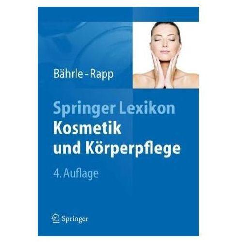 Springer Lexikon Kosmetik und Körperpflege (9783642246876)