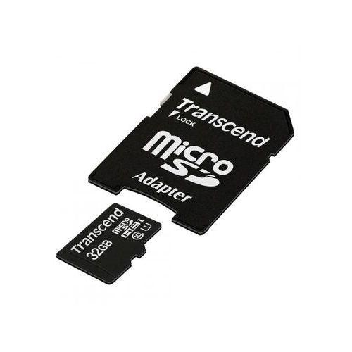 microsd 32gb ts32gusdu1 + adapter >> bogata oferta - super promocje - darmowy transport od 99 zł sprawdź! marki Transcend