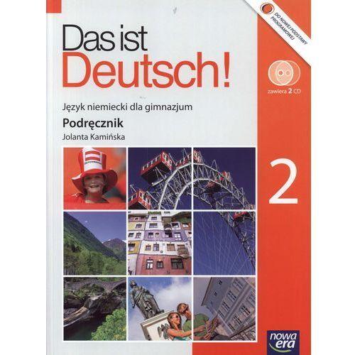 Das ist Deutsch! Podręcznik do klasy 2 + dwie płyty CD (9788374097031)