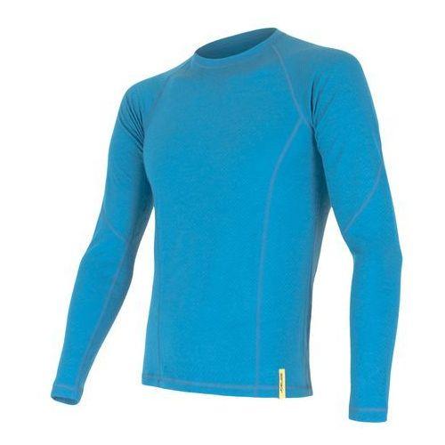 koszulka termoaktywna z długim rękawem merino df m blue xl marki Sensor