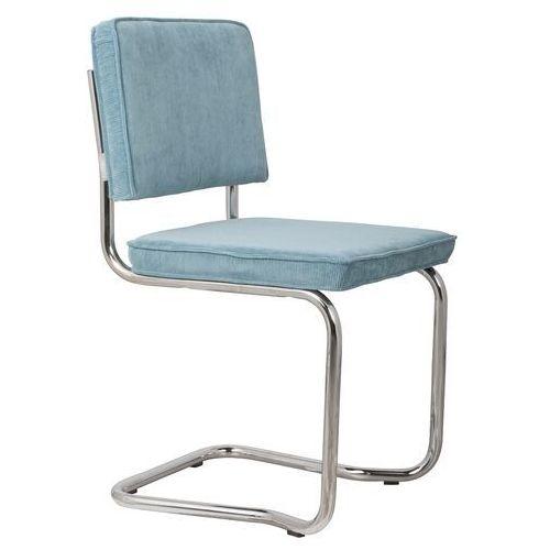 Zuiver krzesło ridge kink rib niebieskie 12a 1100061 (8718548013407)