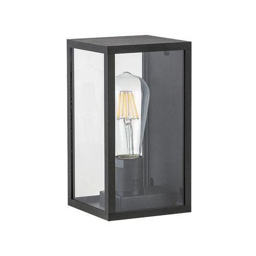 Rabalux Kinkiet topeka 8140 lampa ogrodowa zewnętrzna 1x60w e27 ip54 przeźroczysta/czarny