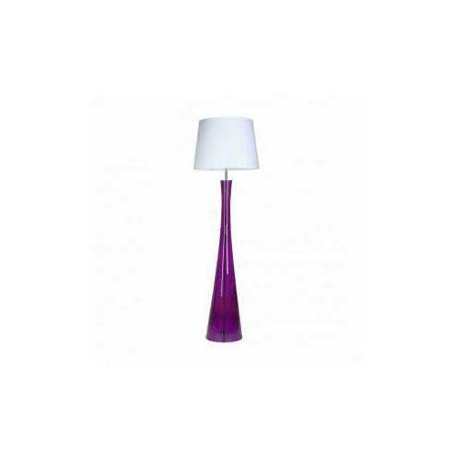4 concepts siena lavender l235311259 lampa stojąca podłogowa 1x60w e27 biały marki 4concepts