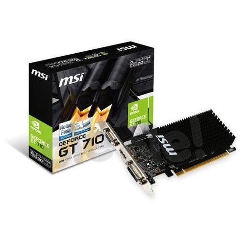 MSI GeForce GT710 1GB DDR3 64bit, GT 710 1GD3H LP