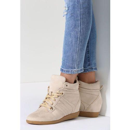 Other Beżowe sneakersy terab