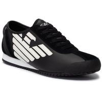 Sneakersy - x8x045 xk108 a120 black/off white marki Ea7 emporio armani