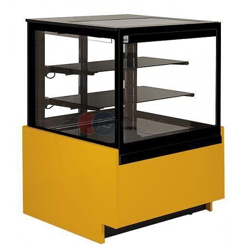 Lada/witryna cukiernicza chłodnicza Rafaello 645x860x1370 h Juka RF 60/CH