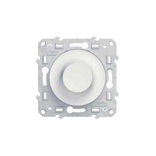 Ściemniacz obrotowy z funkcją łącznika schodowego odace s520511 biały marki Schneider