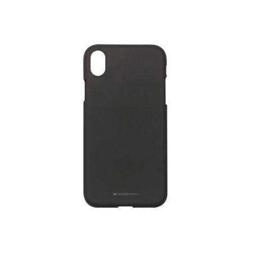 Apple iPhone XR - Mercury Goospery Soft Feeling - czarny, kolor czarny