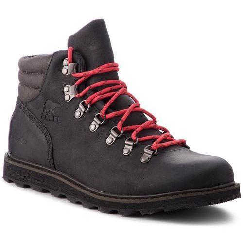 Trzewiki SOREL - Madson Hiker Waterproof NM2620 Black 010, w 2 rozmiarach