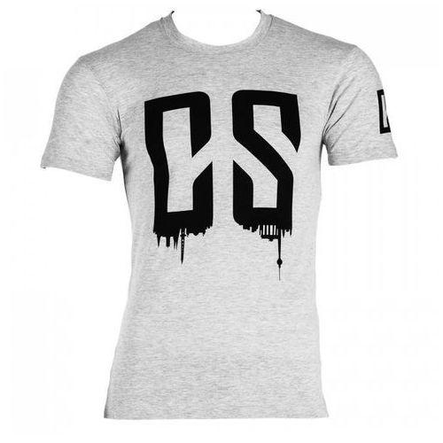 beforce t-shirt treningowy dla mężczyzn rozmiar m szary melanżowy marki Capital sports