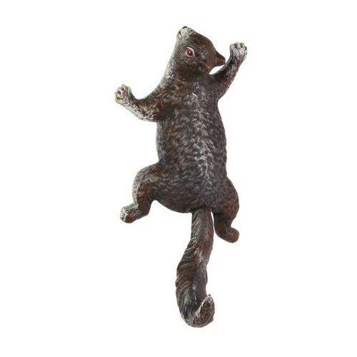 Moodgood Żeliwny wieszak wiewiórka w kolorze brązu