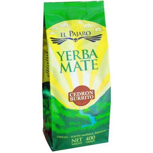 YERBA MATE 400g EL PAJARO Cedron Burrito Yerba mate | DARMOWA DOSTAWA OD 150 ZŁ! - sprawdź w wybranym sklepie
