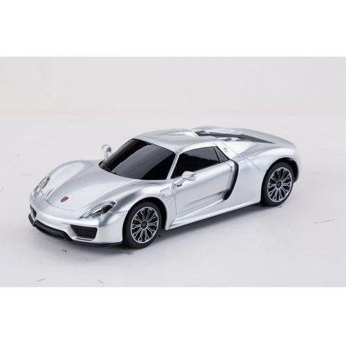 Rastar, Porsche 918 Spyder, samochód zdalnie sterowany, srebrny, 1:24 z kategorii Jeżdżące