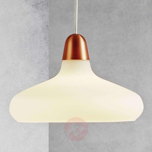 Lampa wisząca Nordlux 78183030, E27 (ØxW) 29 cmx19 cm, Miedź, Biały (5701581261884)