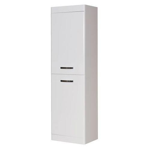 Słupek łazienkowy wiszący 45 cm lissa kolor biały marki Gante