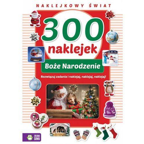300 naklejek na boże narodzenie - praca zbiorowa marki Zielona sowa