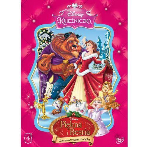 Disney księżniczka. piękna i bestia. zaczarowane święta [dvd] marki Galapagos