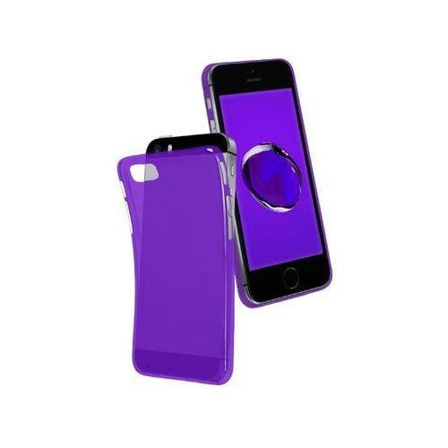 cool cover tecoolipsepu iphone se/5s/5 (fioletowy) - produkt w magazynie - szybka wysyłka! marki Sbs