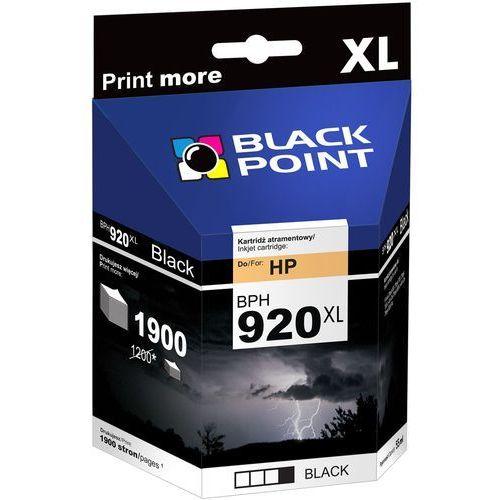 Tusz BLACK POINT BPH920XLBK Czarny Zamiennik HP CD975AE, kolor czarny
