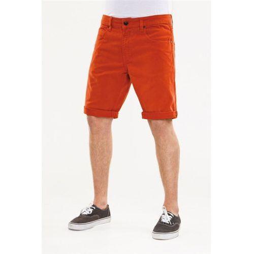 szorty REELL - Rafter Short Burnt Orange (BURNT ORAN), kolor pomarańczowy