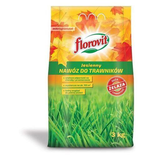 Florovit Nawóz jesienny do trawników : pojemność - 3 kg (5900861142619)