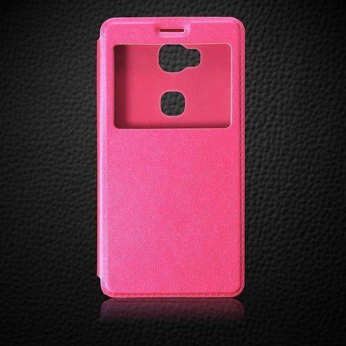 różowy | etui z klapką dla huawei honor 5x - różowy marki Flip leather