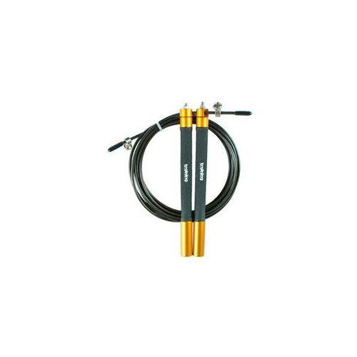 Tsr skakanka speed rope- pomarańczowy - pomarańczowy (5903140107651)