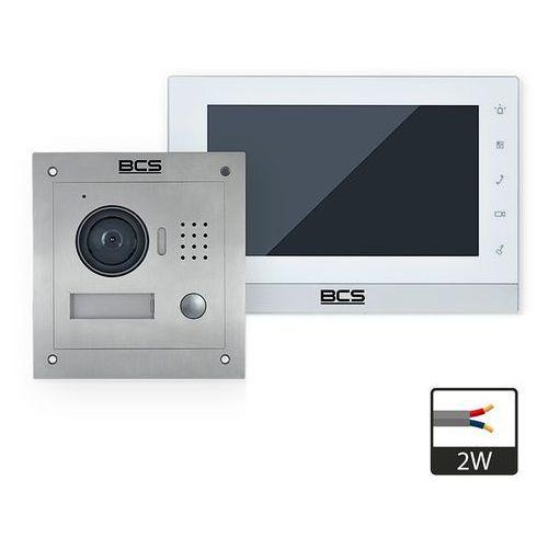 Zestaw wideodomofonowy 2-przewodowy -vd2w1 zpb marki Bcs