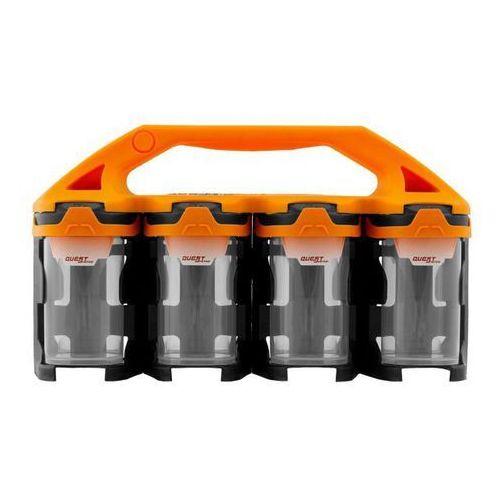 Organizer Questsystem Q2 x 8 pomarańczowy, Q20300803