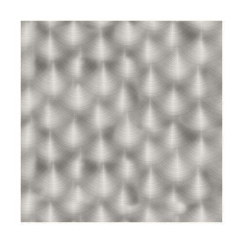 Panel kuchenny szklany Silver brush 60 x 60 cm Alfa-Cer