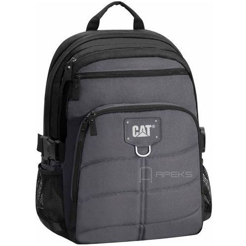 Caterpillar BRENT plecak na laptop 15,6'' / CAT / Black / Anthracite - Black / Anthracite