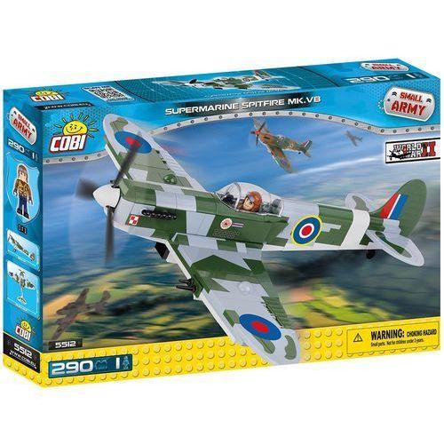 COBI Supermarine Spitfire Mk VB - myśliwiec brytyjski 290 kl. (5512) - SZYBKA WYSYŁKA (od 49 zł gratis!) / ODBIÓR: ŁOMIANKI k. Warszawy