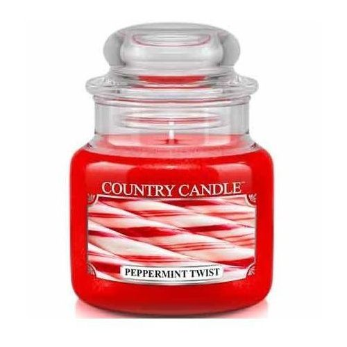 Kringle candle Country candle świeca zapachowa 104g peppermint twist