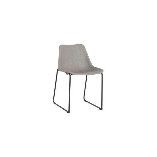 Krzesło Brity Vintage - popielaty, 114629