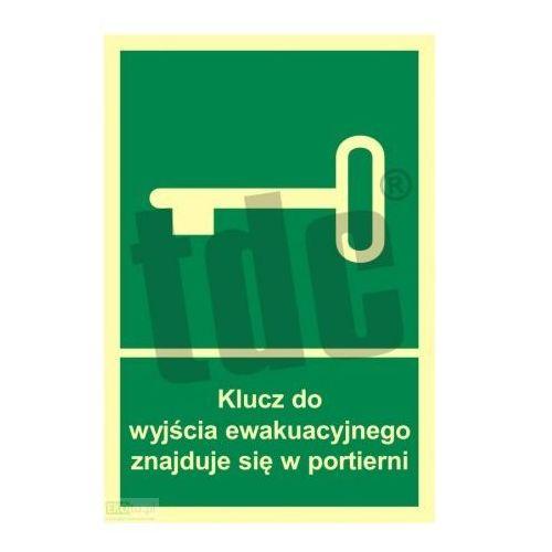 Klucz do wyjścia ewakuacyjnego znajduje się w portierni Art. AC030, 471