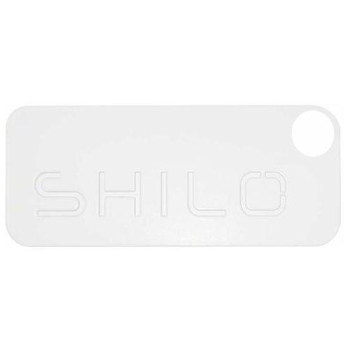 Wpust lampa sufitowa muko il 3360/led/bi prostokątna oprawa podtynkowa led 10w regulowane oczko metalowe białe marki Shilo