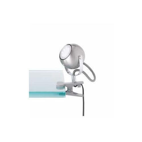 Reality bastia lampa z klipsem nikiel matowy, 1-punktowy - nowoczesny - obszar wewnętrzny - bastia - czas dostawy: od 3-6 dni roboczych (4017807385922)