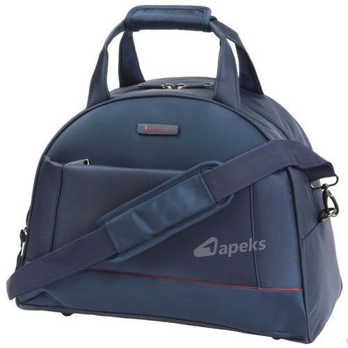 Puccini Amsterdam torba podróżna kabinowa na ramię - tablet / granatowa - granatowy
