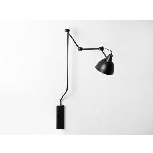 Lampa ścienna regulowana coben wall - czarny marki Customform