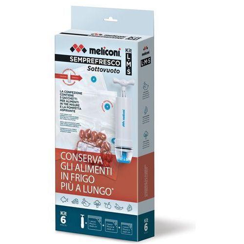 Woreczki próżniowe MELICONI Semprefresco M (6 sztuk) (8006023266982)