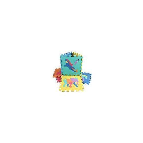 Piankowe puzzle zwierzątka, 10 szt. marki Alltoys