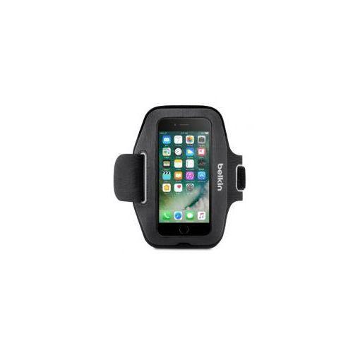 Etui Opaska na ramię Belkin Sport-Fit iPhone 7, czarna (Futerał telefoniczny)