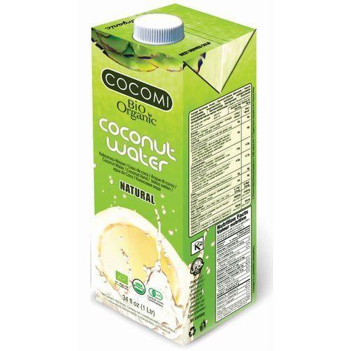 Woda kokosowa naturalna bio 1 l - cocomi marki Cocomi (wody kokosowe, oleje kokosowe, śmietanki)